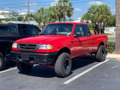 "2002 Mazda B3000 - 15x8 -19mm - Pro Comp Series 31 - Suspension Lift 3"" - 31"" x 10.5"""