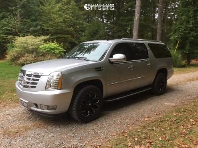 2013 Cadillac Escalade ESV - 20x9 1mm - Fuel Assault - Stock Suspension - 285/50R20
