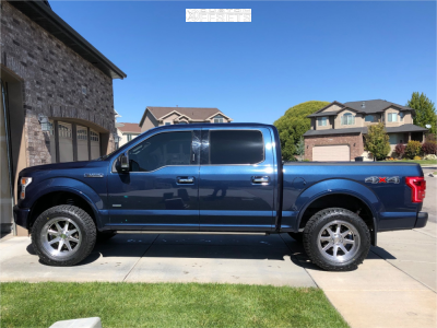 2016 Ford F-150 - 20x10 -18mm - XD Xd844 - Leveling Kit - 305/55R20