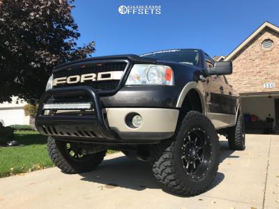 """2007 Ford F-150 - 20x10 -12mm - Fuel Krank - Suspension Lift 6"""" - 37"""" x 13.5"""""""