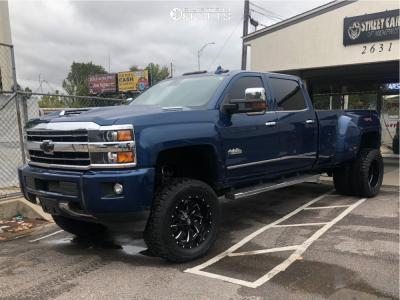 "2018 Chevrolet Silverado 3500 HD - 20x10 -18mm - Fuel Cleaver - Suspension Lift 5"" - 35"" x12.5"""