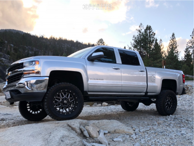 "2016 Chevrolet Silverado 1500 - 20x9 0mm - XD Xd820 - Suspension Lift 7"" - 35"" x 12.5"""