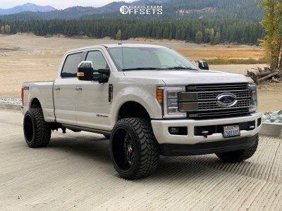 """2017 Ford F-350 Super Duty - 24x14 -81mm - ARKON OFF-ROAD Crown Series Victory - Leveling Kit - 35"""" x 13.5"""""""