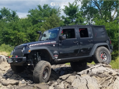 "2017 Jeep Wrangler JK - 17x9 -12mm - XD Xd137 - Suspension Lift 3.5"" - 315/75R17"