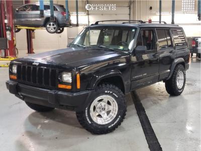 "1996 Jeep Cherokee - 15x8 -19mm - American Racing Ar23 - Stock Suspension - 30"" x 9.5"""