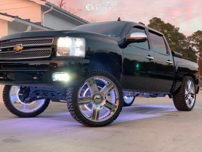 "2012 Chevrolet Silverado 1500 - 26x10 31mm - Factory Reproductions Fr37 - Lifted - 35"" x 13.5"""
