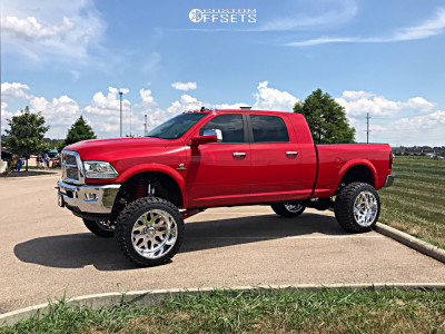 "2018 Ram 3500 - 24x14 -73mm - American Force Flux Ss - Suspension Lift 8"" - 37"" x 13.5"""