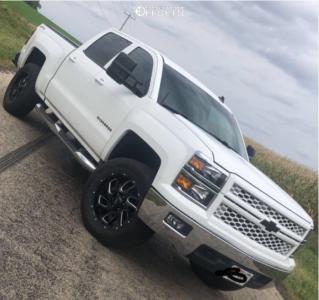 "2014 Chevrolet Silverado 1500 - 20x9 10mm - Ultra Carnage - Suspension Lift 2.5"" - 275/65R20"