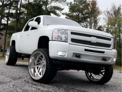 "2011 Chevrolet Silverado 1500 - 26x14 -73mm - American Force Kash Ss - Suspension Lift 8"" - 35"" x 13.5"""