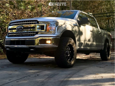 """2018 Ford F-150 - 18x9 -12mm - XD Xd820 - Leveling Kit - 33"""" x 12.5"""""""