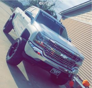 "2019 Chevrolet Silverado 1500 - 20x10 -19mm - Hostile Alpha - Suspension Lift 6"" - 37"" x 13.5"""