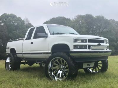 "1998 Chevrolet K1500 - 26x14 -76mm - Hardcore Offroad Hc15 - Suspension Lift 6"" & Body 3"" - 40"" x 15.5"""