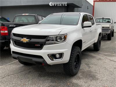 2016 Chevrolet Colorado - 17x8.5 0mm - Method Grid - Stock Suspension - 265/70R17