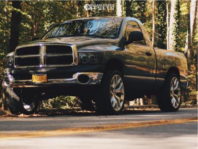 "2003 Dodge Ram 1500 - 24x10 30mm - Eclipse Replica 288 - Suspension Lift 3"" - 305/35R24"