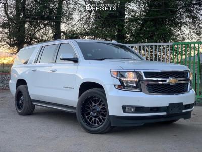 2017 Chevrolet Suburban - 20x10 -18mm - Xd Xd842 - Stock Suspension - 285/55R20