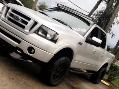 "2006 Ford F-150 - 20x9 0mm - V-Tec Raptor - Body Lift 3"" - 33"" x 12.5"""
