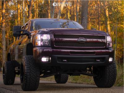 "2011 Chevrolet Silverado 1500 - 20x14 -76mm - Scorpion Sc10 - Suspension Lift 7.5"" - 35"" x 13.5"""