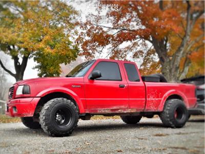 "2005 Ford Ranger - 15x14 -81mm - Bart Super Trucker - Stock Suspension - 31"" x 13.5"""