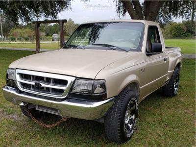 1999 Ford Ranger - 15x8 0mm - Vision Warrior - Stock Suspension - 255/75R15