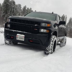 """2019 Chevrolet Silverado 1500 - 20x10 -12mm - Fuel Hostage - Suspension Lift 2.5"""" - 265/60R20"""