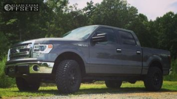 2014 Ford F-150 - 18x9 14mm - Fuel Octane - Leveling Kit - 275/70R18
