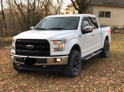 2015 Ford F-150 - 20x9 1mm - Fuel Assault - Leveling Kit - 305/55R20