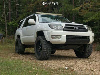 "2005 Toyota 4Runner - 20x10 -24mm - Havok H113 - Suspension Lift 3"" - 33"" x 12.5"""