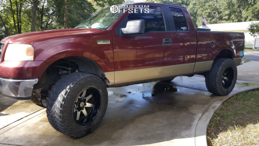 "2006 Ford F-150 - 20x12 -51mm - Toxic Widow - Suspension Lift 6"" - 37"" x 13.5"""