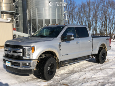 2017 Ford F-350 Super Duty - 18x10 -19mm - Alloy Ion 134 - Stock Suspension - 265/70R18