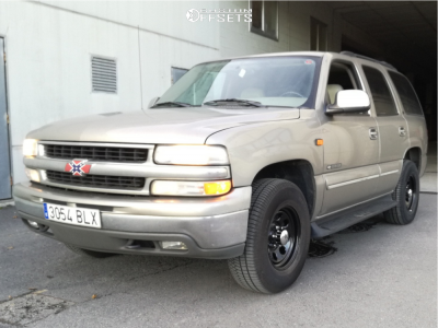 2001 Chevrolet Tahoe - 16x8 13mm - Cragar 397 - Stock Suspension - 265/70R16