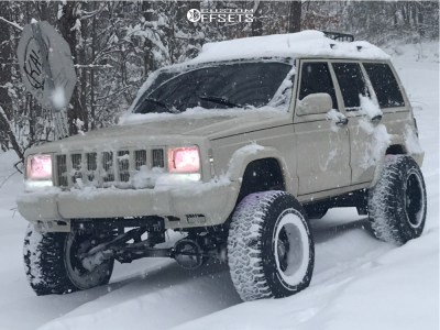"2000 Jeep Cherokee - 20x12 -44mm - Moto Metal Mo962 - Suspension Lift 8.5"" - 305/55R20"