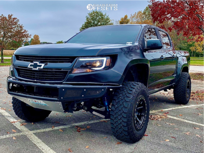 "2018 Chevrolet Colorado - 17x9 -12mm - Dirty Life Dt-2 - Suspension Lift 2.5"" - 285/70R17"