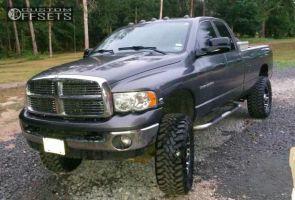 "2006 Dodge Ram 3500 - 20x9 10mm - Gear Off-Road Double Pump - Suspension Lift 6"" - 37"" x 10.5"""