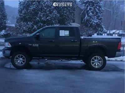 "2018 Ram 1500 - 20x10 -12mm - Fuel Maverick - Suspension Lift 4"" - 35"" x 12.5"""