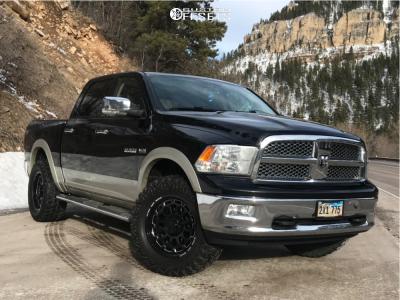 "2010 Dodge Ram 1500 - 20x9 1mm - Ultra Xtreme X111 - Suspension Lift 2.5"" - 35"" x 13.5"""