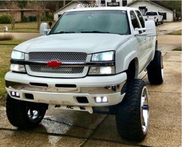 "2005 Chevrolet Silverado 1500 - 26x14 -76mm - Xtreme Mudder Xm-304 - Suspension Lift 6"" & Body 3"" - 37"" x 13.5"""