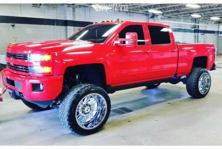 "2016 Chevrolet Express 2500 - 24x14 -76mm - Hostile Stryker - Suspension Lift 9"" - 37"" x 13.5"""