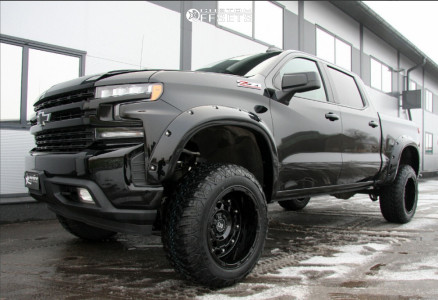 2020 Chevrolet Silverado 1500 Black Rhino Combat Rough ...