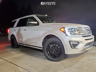2019 Ford Expedition - 20x9 0mm - American Racing AR933 - Stock Suspension - 305/50R20