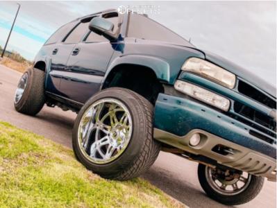 "2005 Chevrolet Tahoe - 20x14 -76mm - Fuel Hostage - Suspension Lift 4"" - 305/50R20"