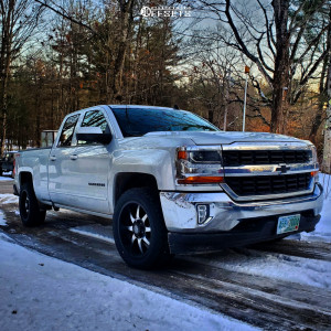 2016 Chevrolet Silverado 1500 - 20x9 -12mm - Panther Offroad 578 - Stock Suspension - 265/50R20