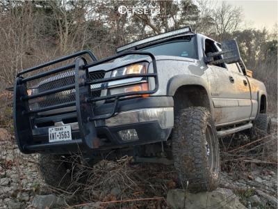 "2005 Chevrolet Silverado 1500 HD - 20x9 0mm - XD Xd837 - Suspension Lift 7"" - 35"" x 12.5"""