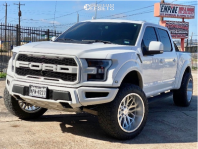 """2019 Ford F-150 - 22x12 -44mm - Axe Offroad Ax1.1 - Leveling Kit - 35"""" x 12.5"""""""