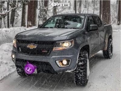 "2018 Chevrolet Colorado - 17x9 -12mm - Dirty Life Dt-2 - Suspension Lift 3"" - 285/70R17"