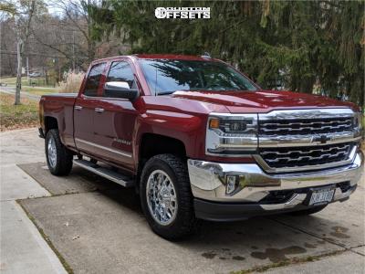"2017 Chevrolet Silverado 1500 - 20x9 10mm - RBP 73r - Suspension Lift 2.5"" - 285/60R20"