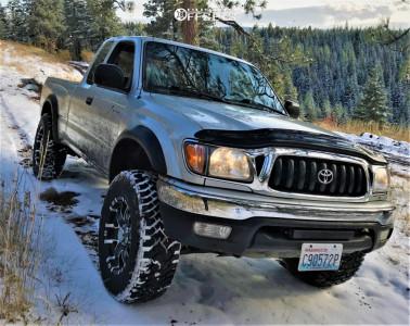 2001 Toyota Tacoma - 17x8 12mm - Ultra Baron - Leveling Kit - 265/70R17
