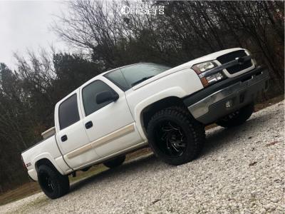 "2004 Chevrolet Silverado 1500 - 20x12 -51mm - ARKON OFF-ROAD Cleopatra - Suspension Lift 2.5"" - 33"" x 12.5"""