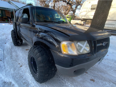 "2003 Ford Explorer Sport - 16x14 -81mm - Bart Super Trucker - Stock Suspension - 33"" x 12.5"""