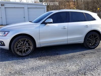 2013 Audi Q5 - 22x9 38mm - Niche Dfs - Stock Suspension - 265/35R22