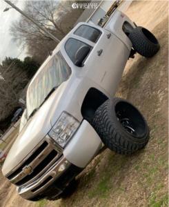 "2010 Chevrolet Silverado 1500 - 24x16 -99mm - Fuel Cleaver - Suspension Lift 7.5"" - 35"" x 13.5"""